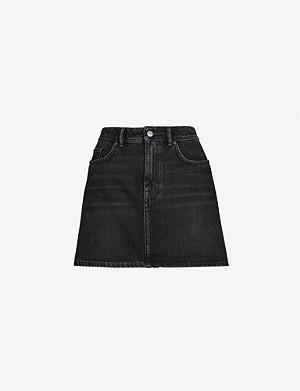 536aab5722 ACNE STUDIOS - Caitlyn A-line denim skirt | Selfridges.com