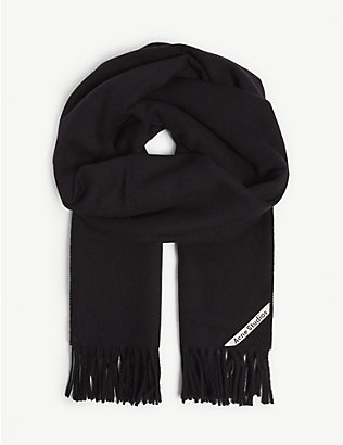ACNE STUDIOS: Canada New wool scarf