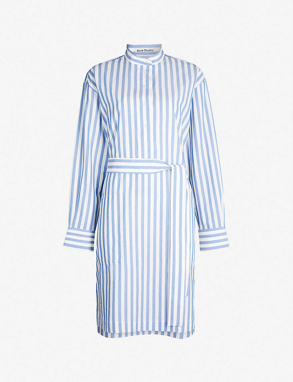 Acne Studios Dress Derin striped cotton dress