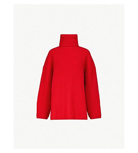 e1e8543b2 ACNE STUDIOS - Ribbed-knit wool turtleneck jumper
