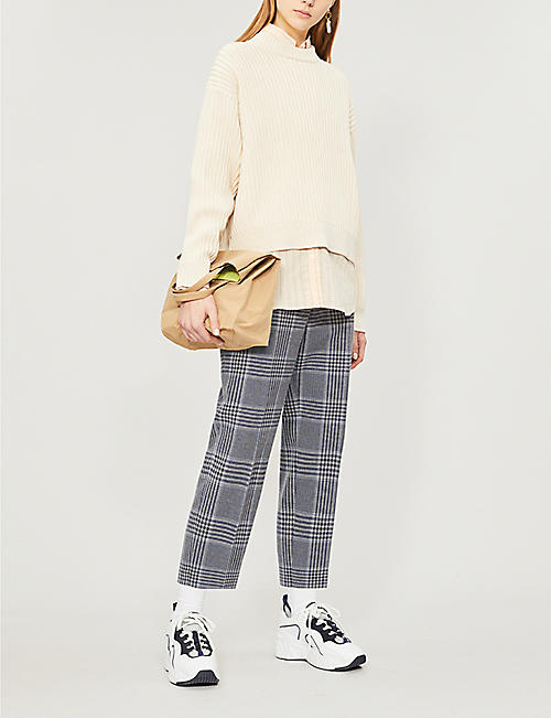 ACNE STUDIOS Kassie chunky-knit cotton-blend jumper