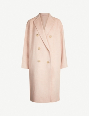 ACNE STUDIOS Odethe double-breasted wool and cashmere-blend coat