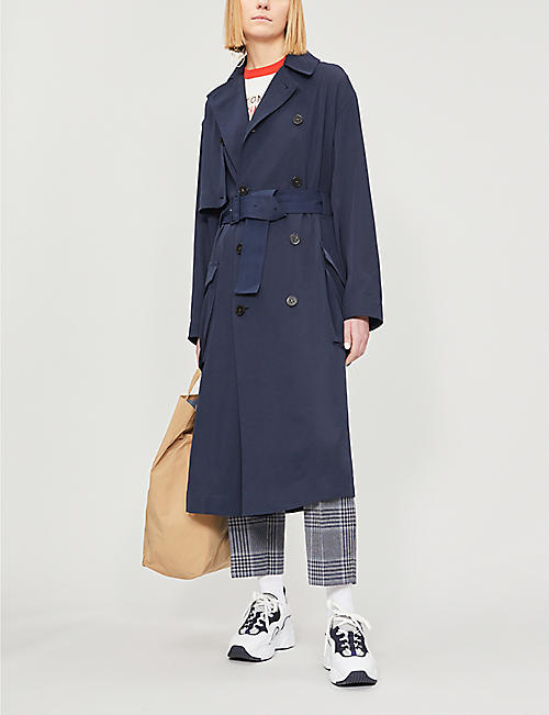 ACNE STUDIOS Olicia double-breasted woven coat