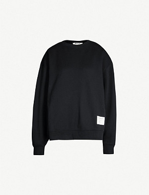 ACNE STUDIOS Fyona oversized cotton-jersey sweatshirt