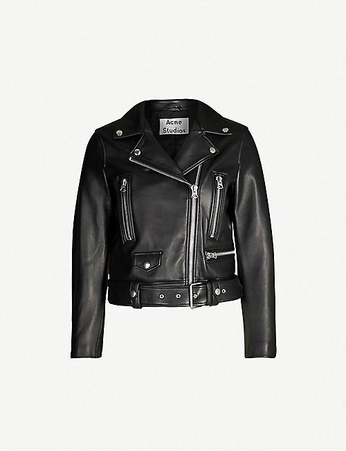 ae221a87946 Leather jackets - Jackets - Coats   jackets - Clothing - Womens ...