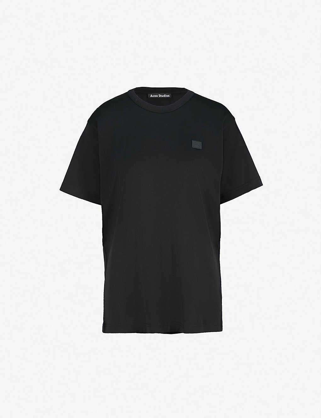 37153ace3d8ba ACNE STUDIOS - Nash Face oversized cotton-jersey T-shirt ...