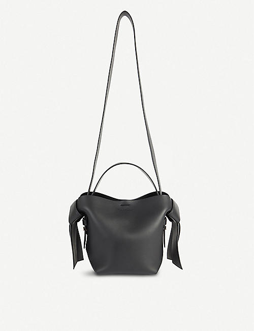 ACNE STUDIOS: Musubi mini leather crossbody bag