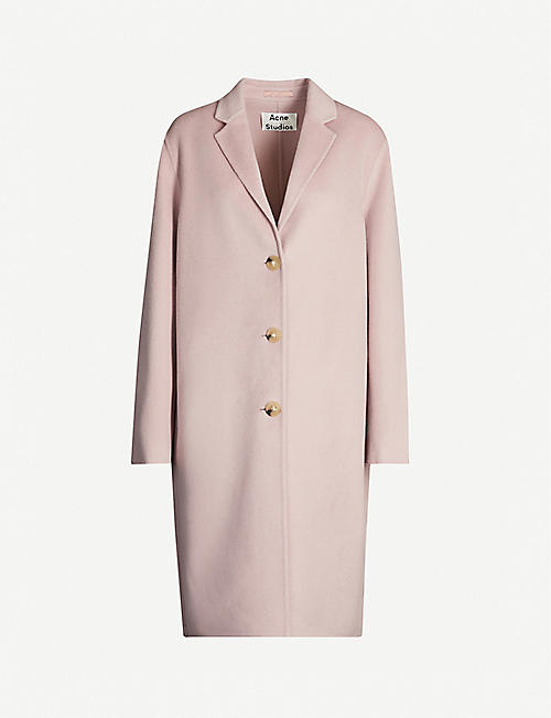 ACNE STUDIOS Avalon single-breasted wool coat