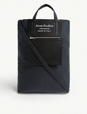 ACNE STUDIOS Baker leather panel tote