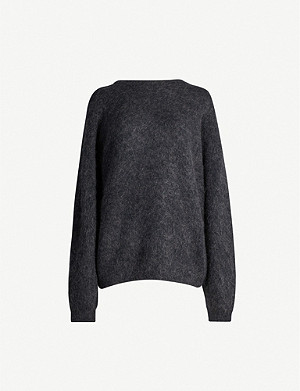 ACNE STUDIOS Dramatic wool and mohair-blend jumper