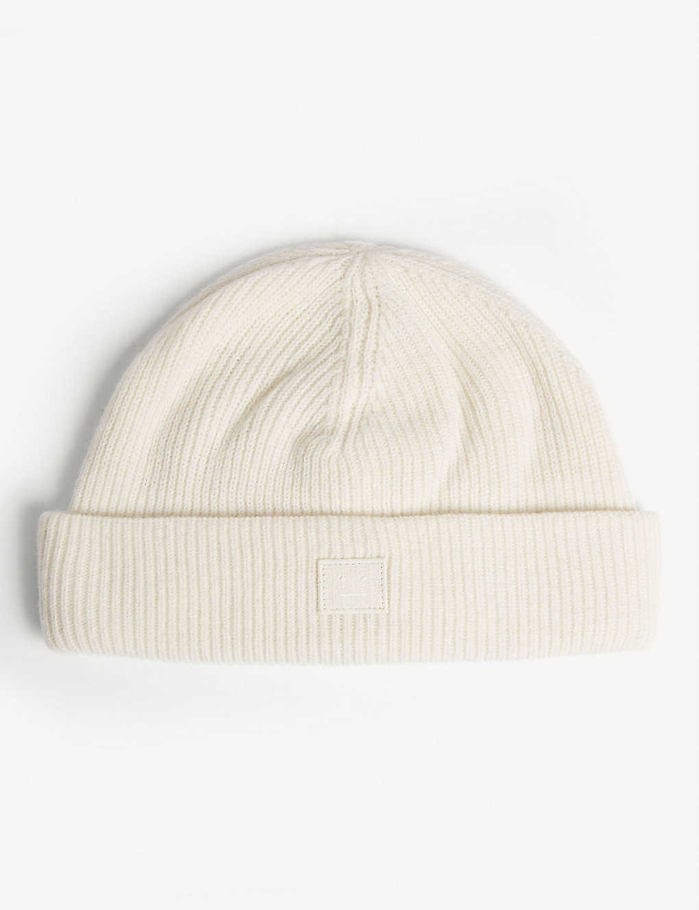 29473d16 ACNE STUDIOS - Pansy Face knitted wool beanie | Selfridges.com