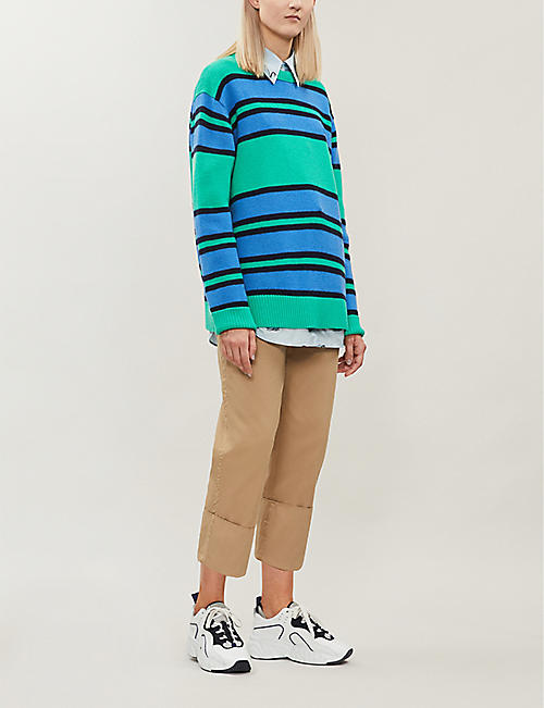 ACNE STUDIOS Niamh striped wool jumper