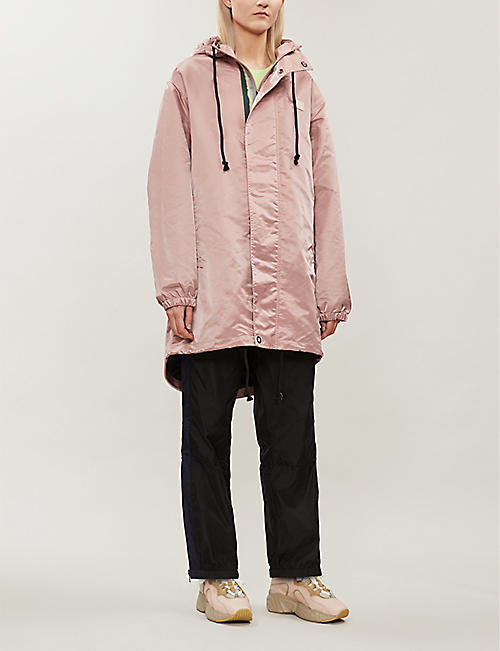 ACNE STUDIOS Osborn hooded shell jacket
