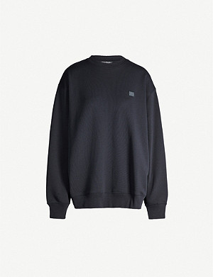 ACNE STUDIOS Forba oversized cotton sweatshirt