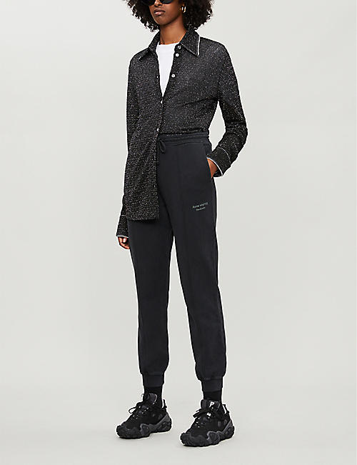 ACNE STUDIOS Felodie cotton-jersey jogging bottoms