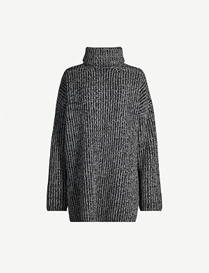ACNE STUDIOS Newdisa roll-neck relaxed-fit wool jumper