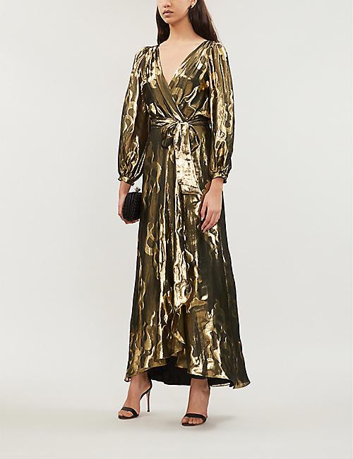 1fa02de2ae TEMPERLEY LONDON Eda metallic lamé midi dress. NEW SEASON. Quick Shop