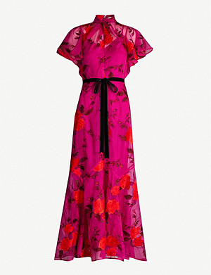 ERDEM Celestina floral-print high-neck maxi dress