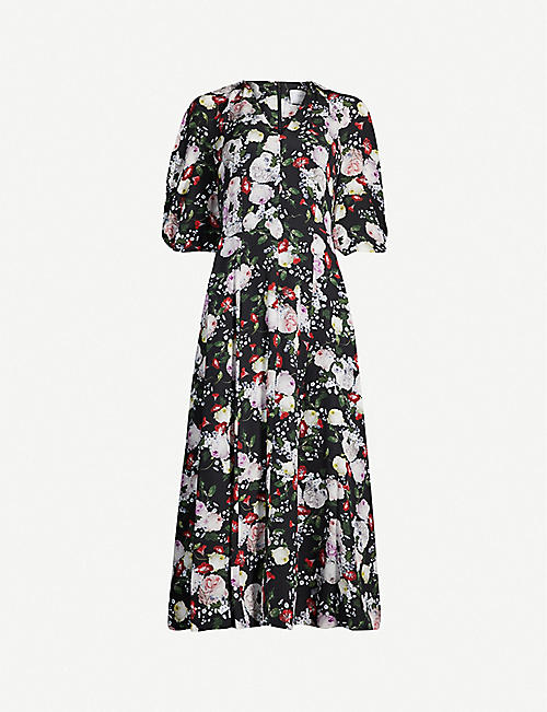 ERDEM Cressida silk dress