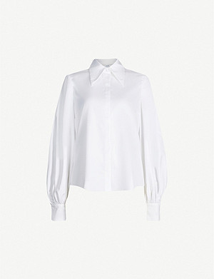 ERDEM Pointed-collar cotton shirt