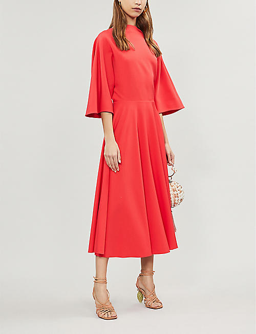 ROKSANDA Dara bow-detail cady dress
