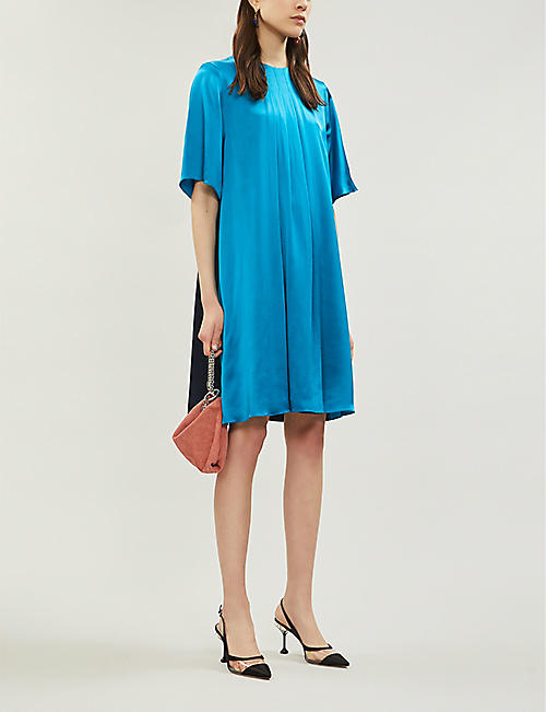 49d74af8dec ROKSANDA Ada silk-satin shift dress
