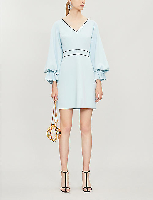 ROKSANDA Darie long-sleeved stretch-crepe mini dress