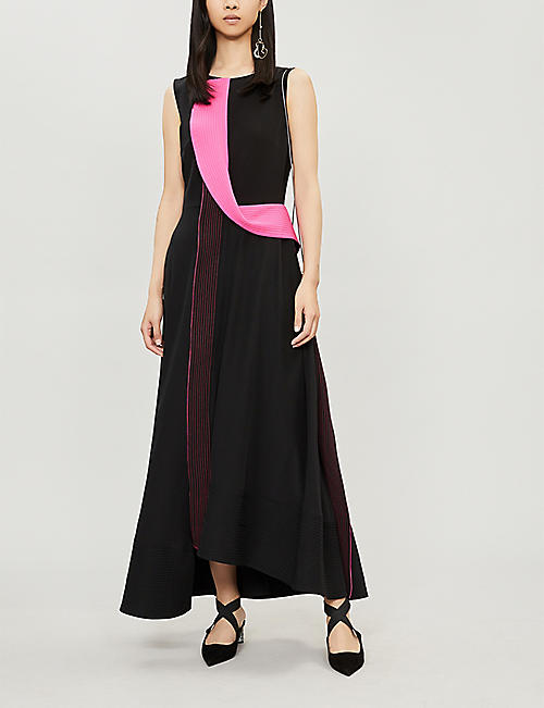 ROKSANDA Efilia colour-blocked silk maxi dress