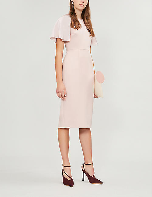 ROKSANDA Cierra fitted cady dress