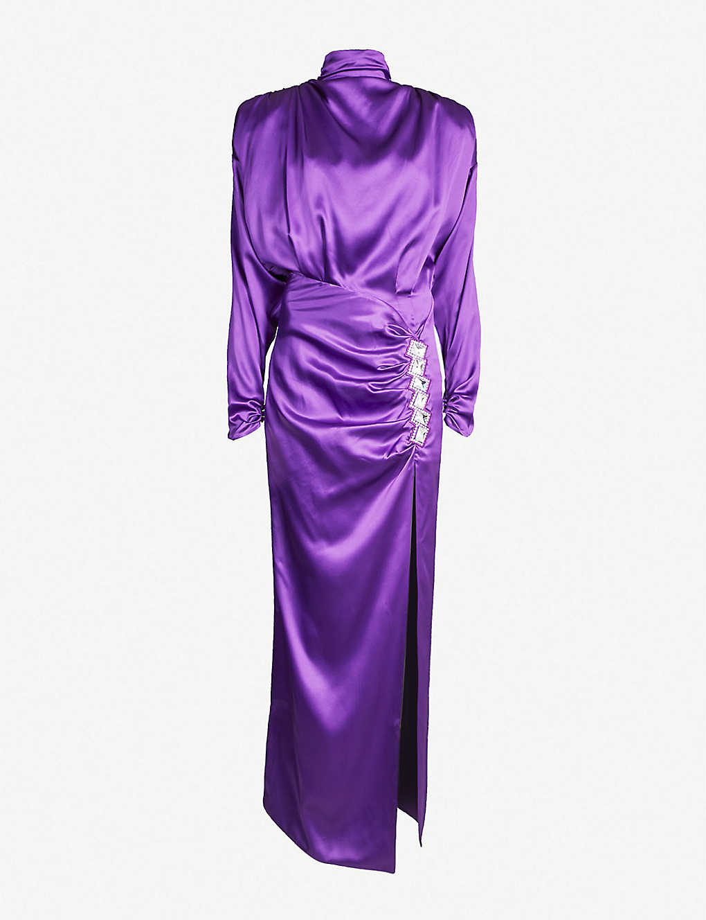 1dadc8473b0 ALESSANDRA RICH - Crystal-embellished silk-satin dress | Selfridges.com
