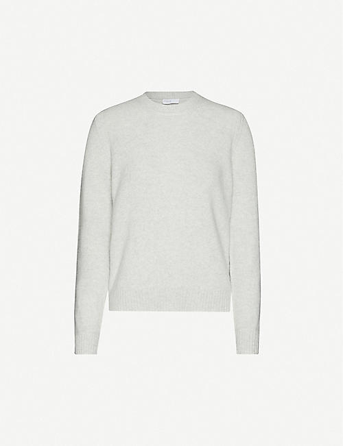 ROSETTA GETTY Scoop-neck cashmere jumper