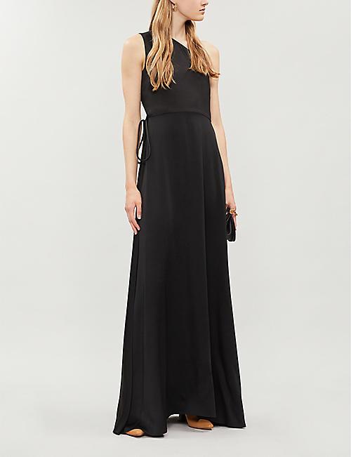 60b91babc8ffd ROSETTA GETTY One-shoulder satin gown. NEW SEASON. Quick Shop