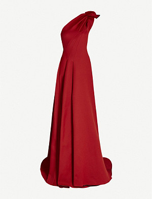 MATICEVSKI Virtuoso sculpted one-shoulder crepe gown