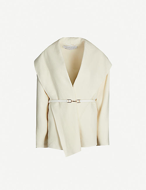 GABRIELA HEARST Harris wrapover wool jacket