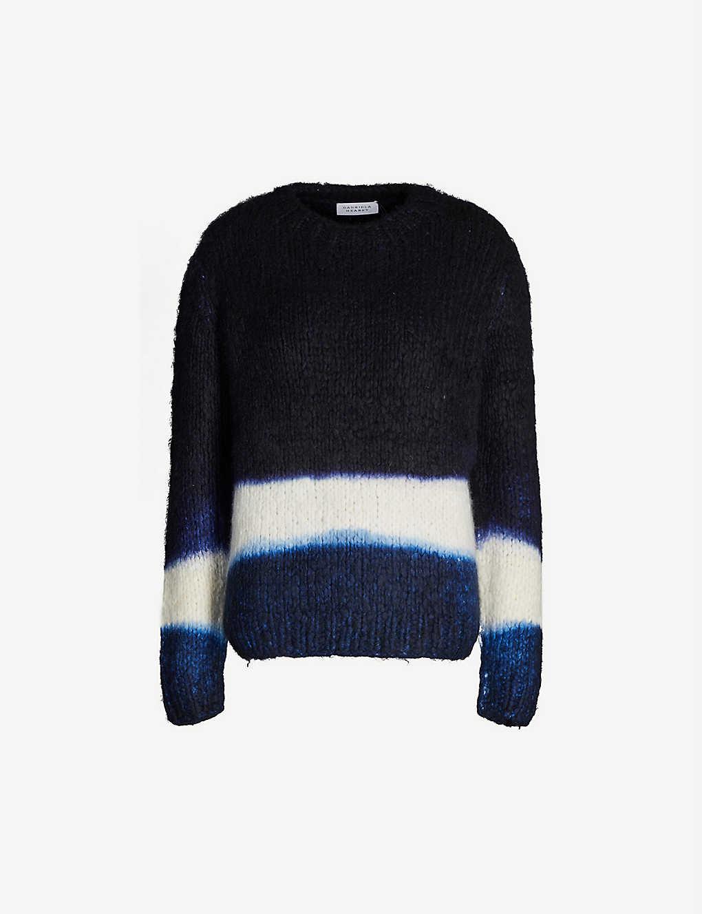 Gabriela Hearst Knits Lawrence striped cashmere jumper
