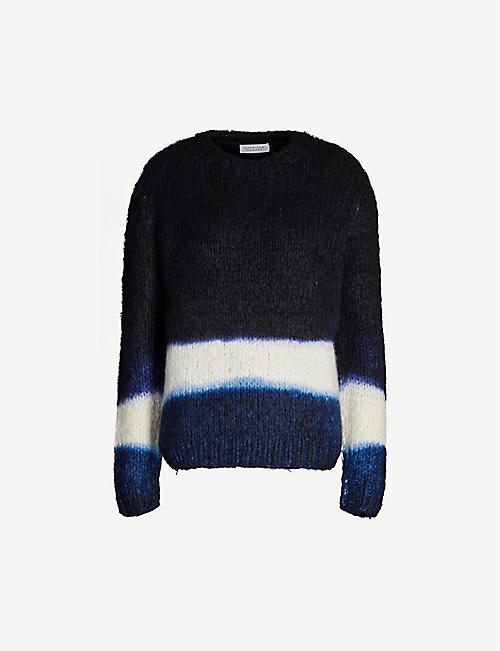 GABRIELA HEARST Lawrence striped cashmere jumper