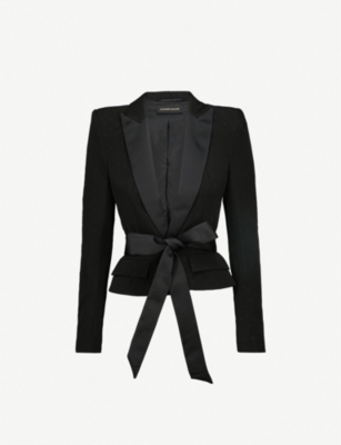 ALEXANDRE VAUTHIER Polka dot-patterned wool jacket