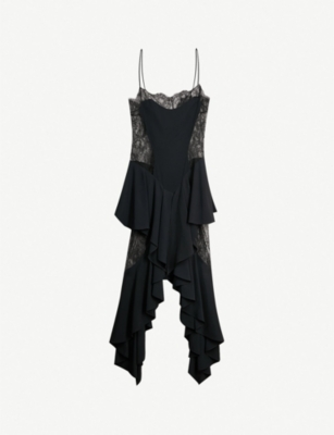 ALEXANDRE VAUTHIER Elaine lace and stretch-jersey dress