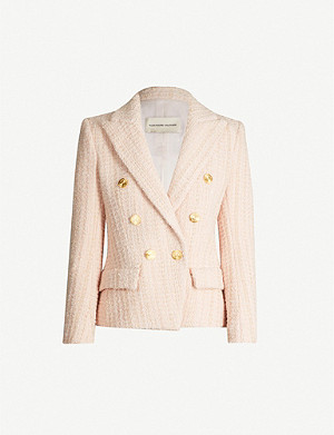 ALEXANDRE VAUTHIER Double-breasted wool-blend tweed blazer