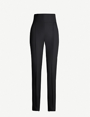 ALEXANDRE VAUTHIER Tapered wool trousers
