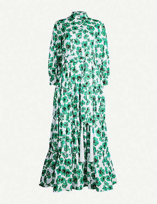 e50c0a64172 BORGO DE NOR Clara floral-printed cotton maxi dress