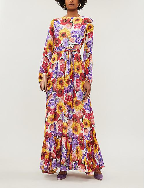 30facddfda9 BORGO DE NOR Dianora floral-print silk maxi dress