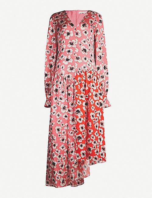 60d36db23a02 BORGO DE NOR Gia silk-satin dress