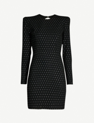 ALEX PERRY Belle diamante-embellished mini dress