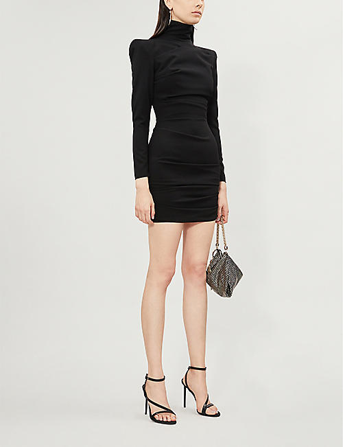 ALEX PERRY Pierce crepe mini dress