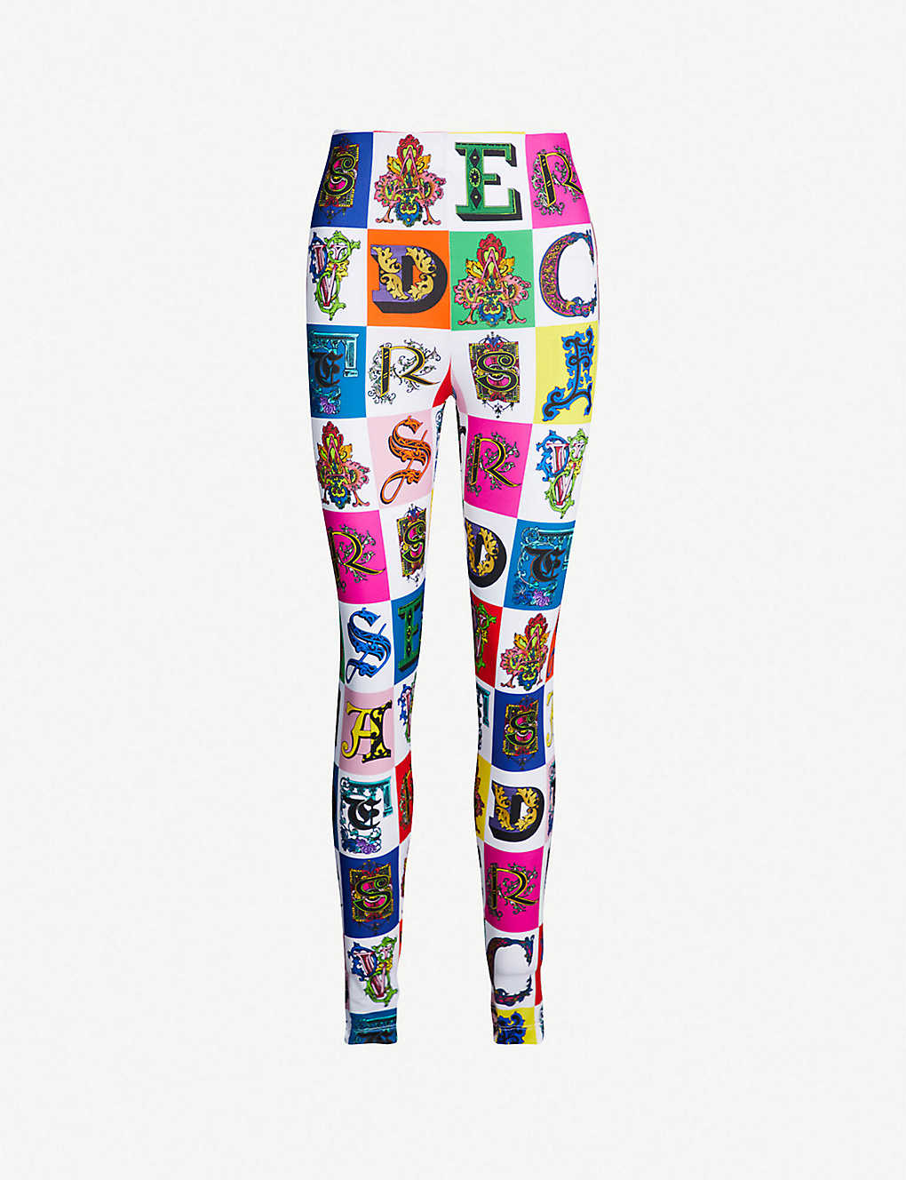 f1bbb61bd65dd Logo-print stretch-jersey leggings - Printed bckgrnd white ...