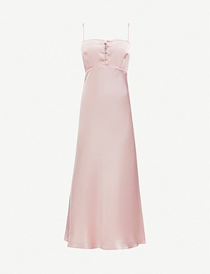 BERNADETTE Florence silk dress