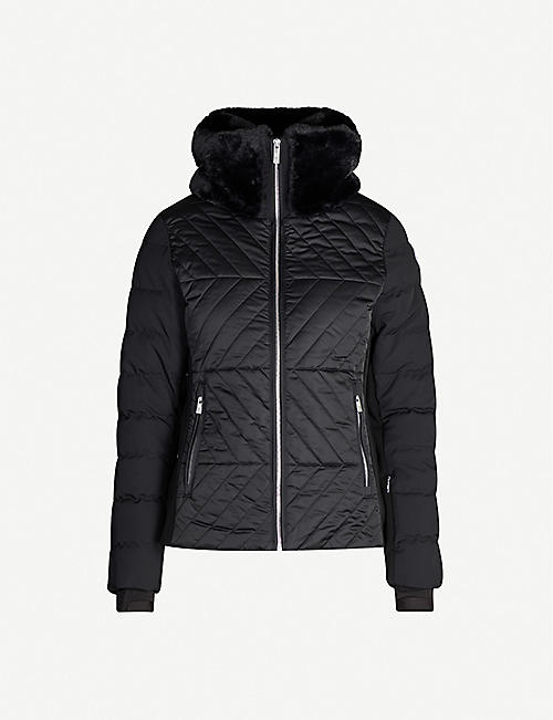 FUSALP Poudreuse funnel-neck quilted shell jacket