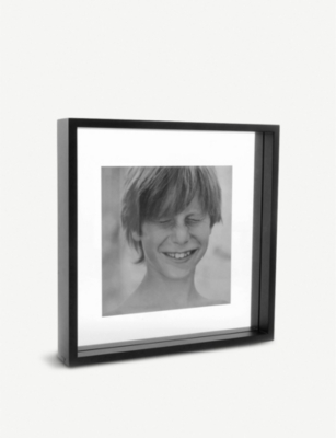 XL BOOM Square Floating Box wooden photo frame 32x32cm