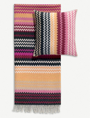 MISSONI HOME Humbert jacquard cushion 40cm x 40cm